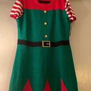 Women's Christmas Sweater Dress